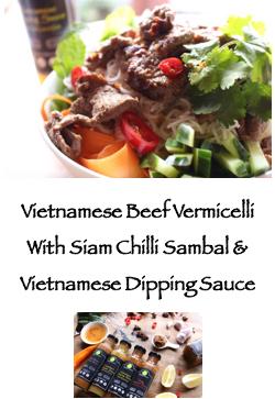 PoppySmack Vietnamese beef vermicelli