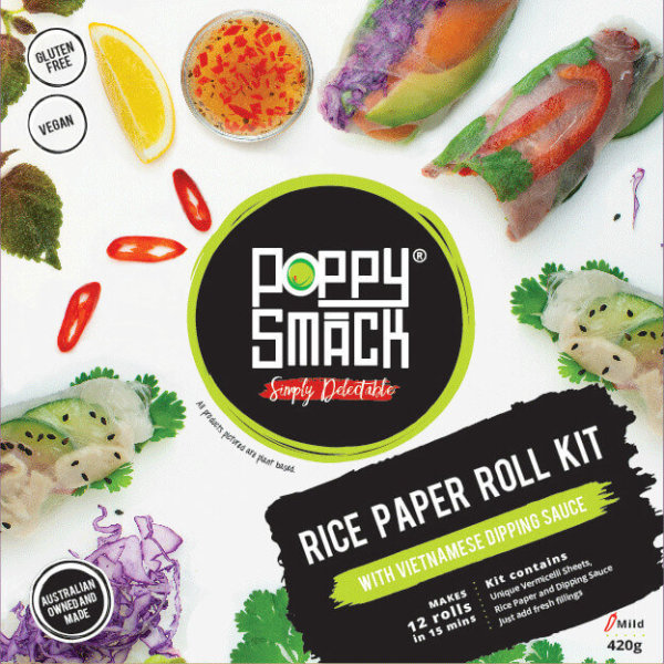3 Rice Paper Roll Kits & Rice Paper DIPPER